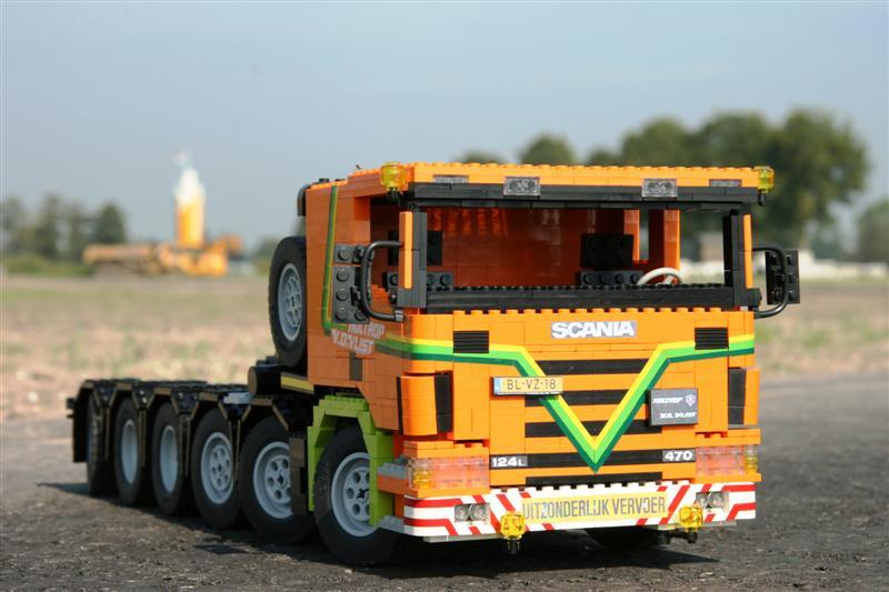 Scania P124g 470 12x4x8 Met Nooteboom Scheurele Intercombi